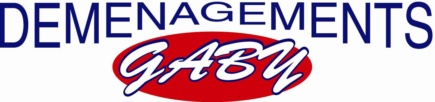 Logo rectangle déménagements Gaby
